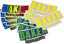 Baker Logo FA Sticker