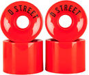 D-Street 59 Cent Cruiser Hjul 78A 4-pack