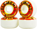 Element Shocked Street Skateboard Wielen 4-pack