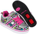 Heelys X2 Bolt Silver/Multi Shoes With Wheels