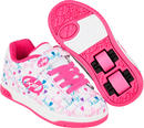 Heelys X2 Dual Up White/Pink Shoes With Wheels