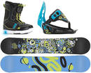 K2 Groms Mini Turbo Snowboard Package Small