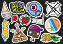 SkatePro Sticker Hoja