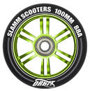 Slamm Orbit 100mm Stunt Scooter Rolle (komplett)