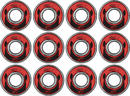 Wicked ABEC 7 Freespin Kullager 608 12-Pack