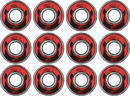 Wicked ABEC 9 Freespin Kullager 608 12-Pack