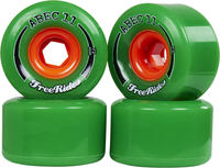 Abec11 FreeRides Longboard wheels 4-Pack