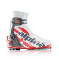Alpina RSK White Skate Cross Country Ski Boots