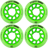 Atom Poison Savant Hybrid Wheels 59mm 4-Pack