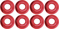 Bionic Nylon Axle Nuts 8-pack