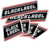 Zwart Label Top Shelf Sticker Pack