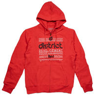 District Supply Co Development Zip Sudadera