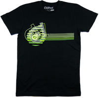 District Supply Co Neon T-paita