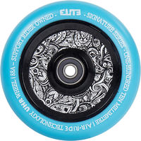 Elite Air Ride Floral Stunt Scooter Wheel Complete