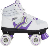 Fila Verve Lady White/Purple Quad Roller skates