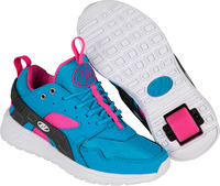 Heelys Force Blue/Pink Shoes With Wheels