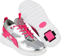 Heelys Force Silver/Pink Shoes With Wheels