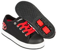 Heelys Fresh X2 Black/Red Shoes With Wheels