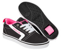 Heelys GR8 Pro Black/Pink Shoes With Wheels