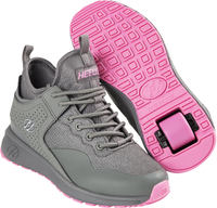 Heelys Piper Grey/Pink Shoes With Wheels