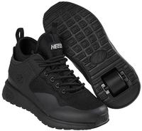 Heelys Piper Triple Black Shoes With Wheels