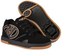 Heelys Propel 2.0 Black/Gum Shoes With Wheels
