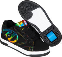 Heelys Propel 2.0 Black/Rainbow Shoes With Wheels