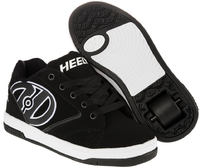 Heelys Propel 2.0 Black/White Shoes With Wheels