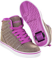 Heelys Uptown Or/Mauve Colourshift Chaussures à Roulettes