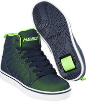 Heelys Uptown Navy/Lime Super Mesh Shoes With Wheels