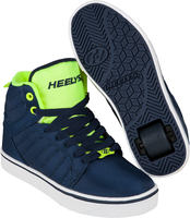 Heelys Uptown Navy/Yellow Shoes With Wheels