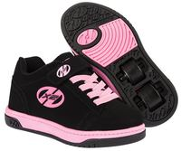 Heelys X2 Dual Up Black/Pink Shoes With Wheels