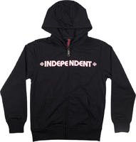 Independent Bar Cross Youth Skate Zip Hoodie