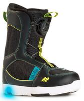 K2 Groms Mini Turbo Snowboard-Boots