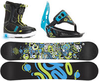 K2 Groms Mini Turbo Snowboard Package Grand