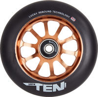 Lucky Ten 110mm Pro Scooter Wheel Complete