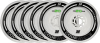Matter Code White 125mm Speed Skate Wheels 6-pack