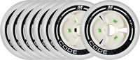 Matter Code White Wheels 8-pack