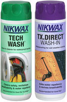 Nikwax Twinpack Tech Wash/TX-Direct Wash-In