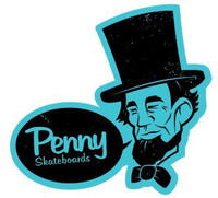 Penny Abraham Lincoln Sticker