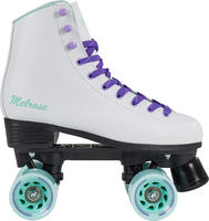 Playlife Melrose White Retro Quad Roller Skates