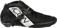 Powerslide Core Icon Black/White Speed Skate Boots