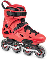 2-laatuinen - Powerslide Imperial Pro 80 Red Freeskatet