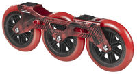 Powerslide Megacruiser Red Speedframe Set