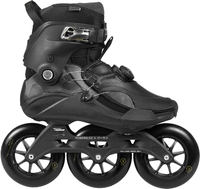 B-Stock - Powerslide Trinity 125 Vanta Black Freeskates