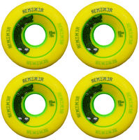 Remember Lil'hoot 65mm Roues Longboard 4-Pack