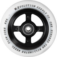 Revolution Supply Flow White PU Stunt Scooter Wheel