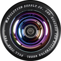 Revolution Supply Full Kern Black PU Stunt Scooter Rolle