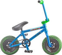 Rocker 3+ Crazymain Blauw Mini BMX Fiets