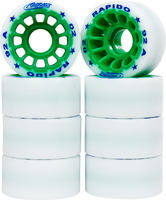 Roll-Line Rapido Roller skate Wheels 8-pack